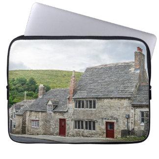 Stone cottages laptop sleeve