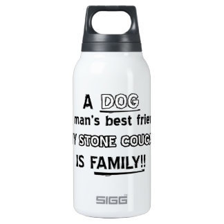 STONE COUGAR Cat Designs Insulated Water Bottle