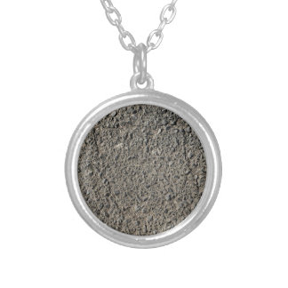 Stone Covered Silver Plated Necklace