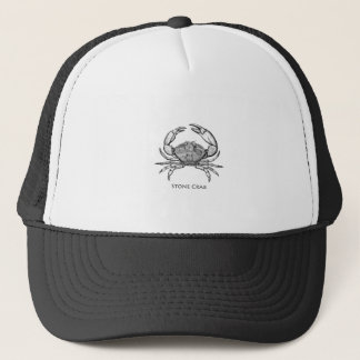 Stone Crab Logo (line art) Trucker Hat
