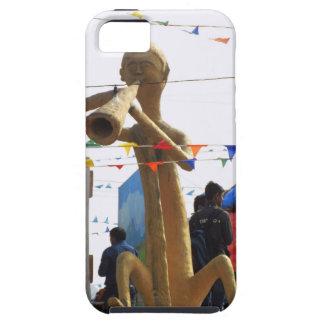 stone craft statue of street musician festivals iPhone SE/5/5s case