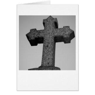 Stone Cross Card
