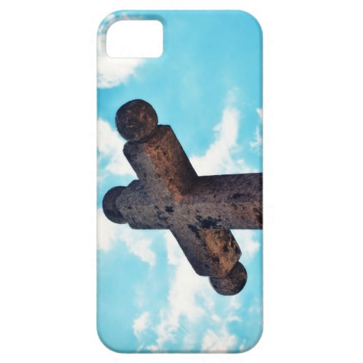 Stone Cross Iphone 5 Case