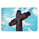 Stone Cross Magnet