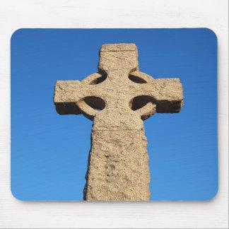 stone cross mousepad