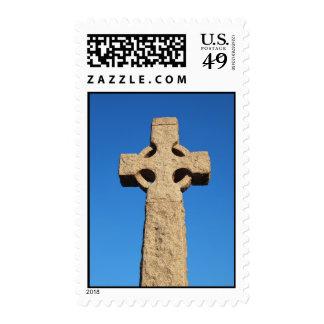 Stone cross stamp