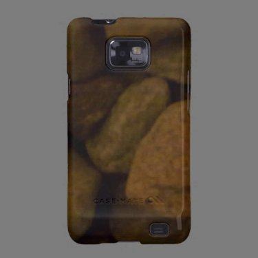 Stone Dark Samsung Galaxy S Cases