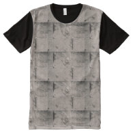 Stone Design All Over Printed T-Shirt All-Over Print T-shirt