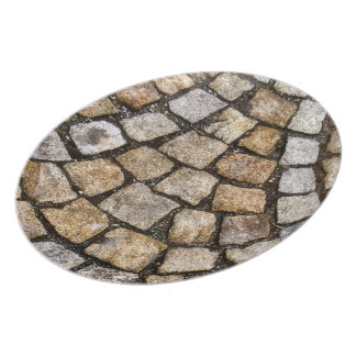 stone design dinner plates