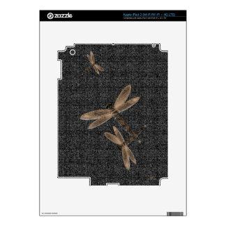 Stone Dragonfly Zazzle Skin Skins For iPad 3