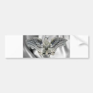 Stone Eagle Sculpture Bumper Sticker