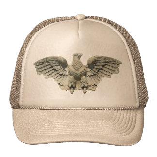 Stone Eagle Sculpture Trucker Hats