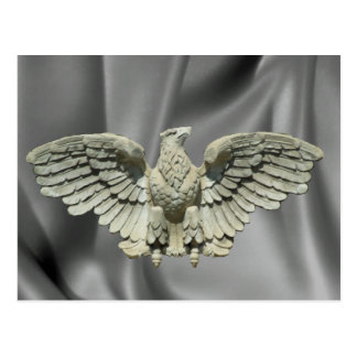 Stone Eagle Sculpture Postcard