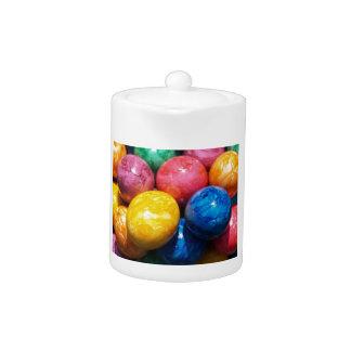 Stone Easter Eggs Teapot