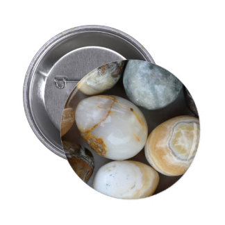 stone eggs pinback button