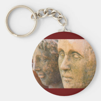 Stone Faces Key Chains