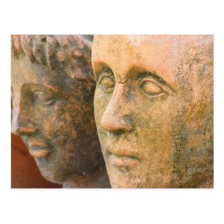 Stone Faces Postcard