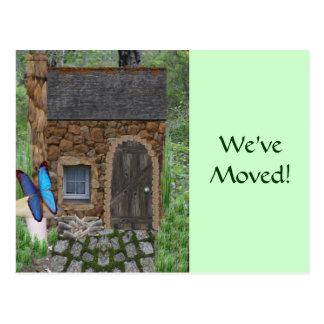 Stone Fairy Cottage Postcard