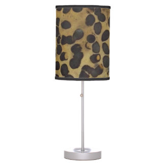 Stone Finish Table Lamp