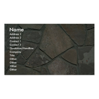 Stone floor Double-Sided standard business cards (Pack of 100)