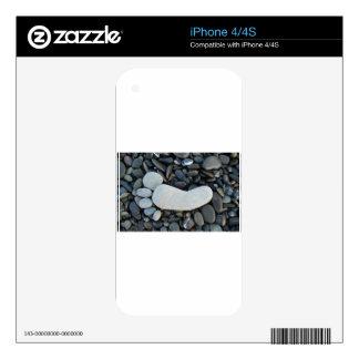 Stone Footprint iPhone 4S Skin