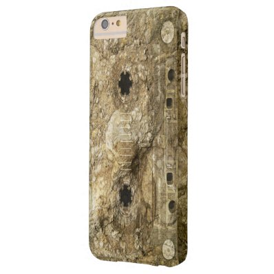 Stone Fossil Music Record Cassette Tape Barely There iPhone 6 Plus Case