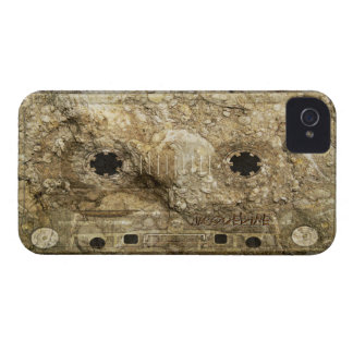 Stone Fossil Music Record Cassette Tape iPhone iPhone 4 Covers