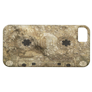 Stone Fossil Music Record Cassette Tape iPhone iPhone 5 Case