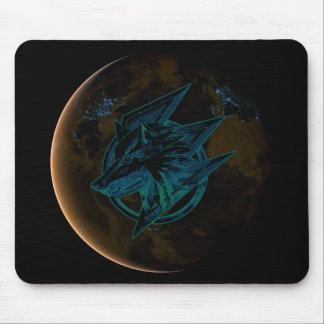 STONE GAMING WOLF NIGHT MOUSE PAD