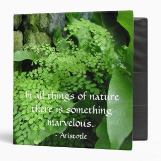 Stone Garden: Aristotle - Binder