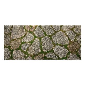 stone garden path rack card