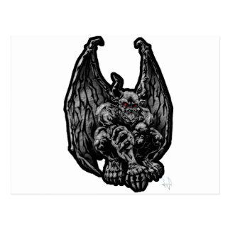 Stone Gargoyle Post Card
