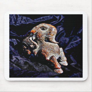 Stone Goat of great age Mouse Pad