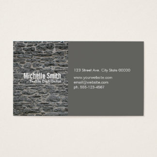 Stone / Gray Business Card