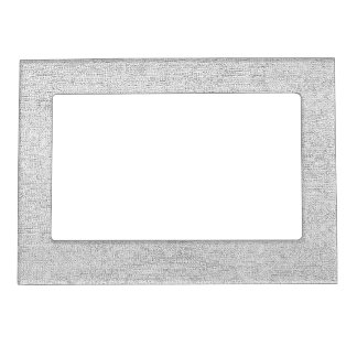 Stone - grey magnetic photo frame