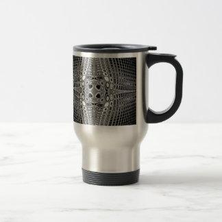 Stone Grid Travel Mug