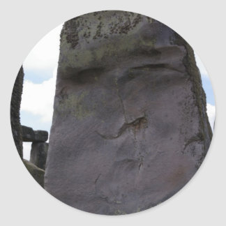 Stone Guardian Classic Round Sticker