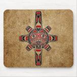 Stone Haida Sun Mask Mousepad