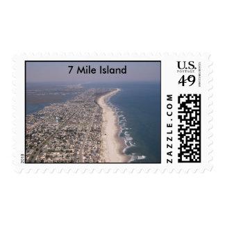 Stone Harbor Avalon Sea Isle, 7 Mile Island Postage Stamp