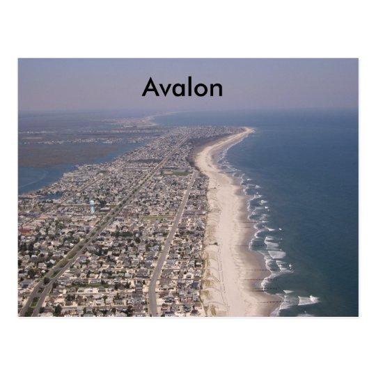 Stone Harbor Avalon Wildwood, Avalon Postcard