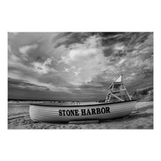 Stone Harbor Beach, NJ Poster