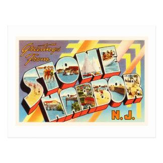 Stone Harbor New Jersey NJ Old Vintage Postcard- Postcard
