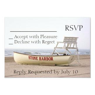 Stone Harbor RSVP Invitation