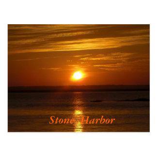 Stone Harbor Sunset Postcards