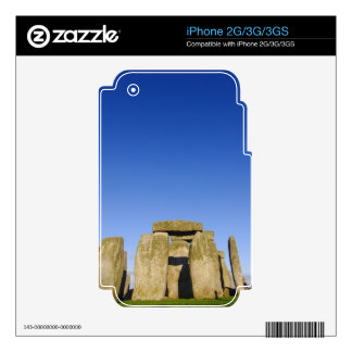 Stone Henge Decals For The iPhone 3GS