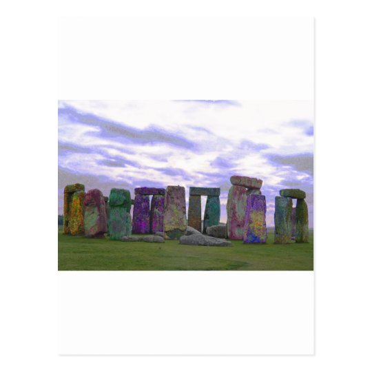 Stone Henge Postcard