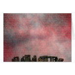 Stone Henge Textural Greeting Cards