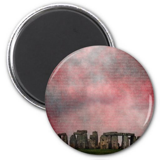 Stone Henge Textural Magnets