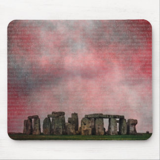 Stone Henge Textural Mouse Pad