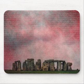 Stone Henge Textural Mousepad